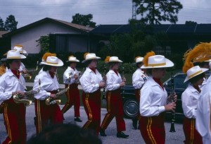 High school marching band memories!