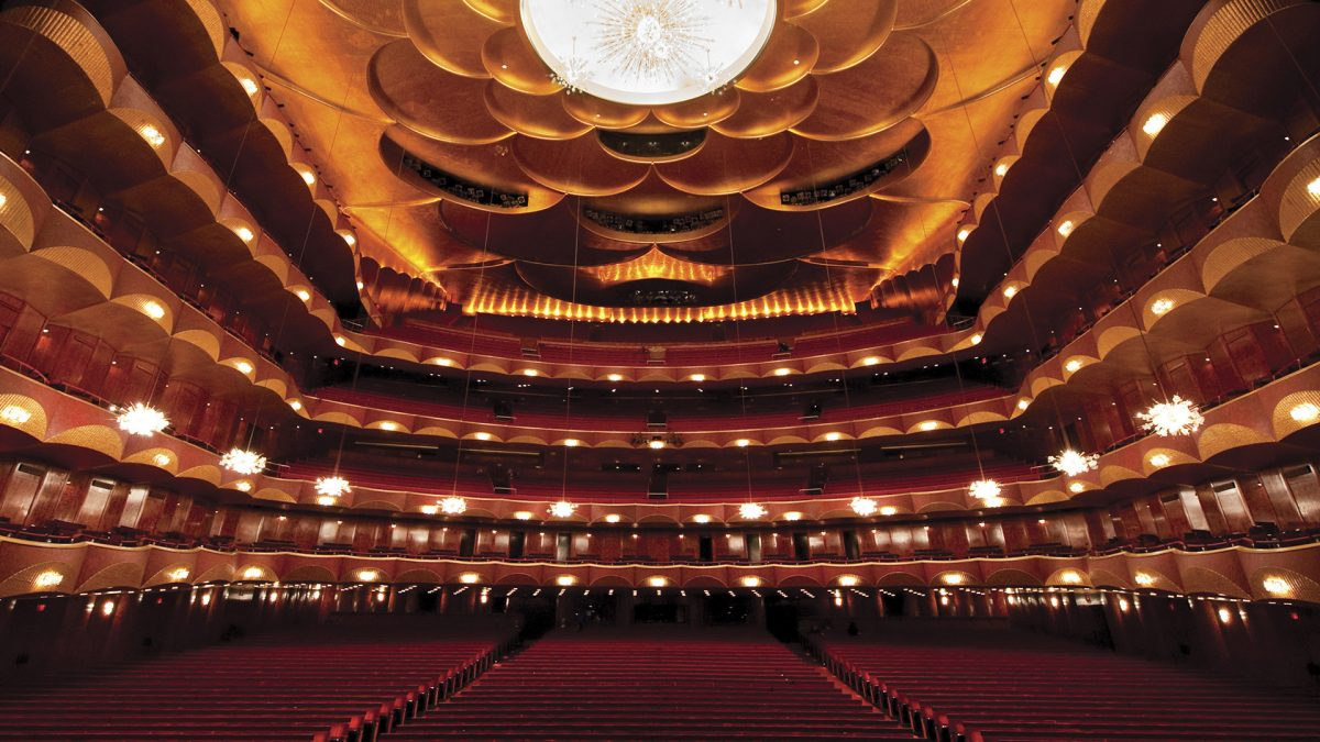 Metropolitan Opera House Zoom background image